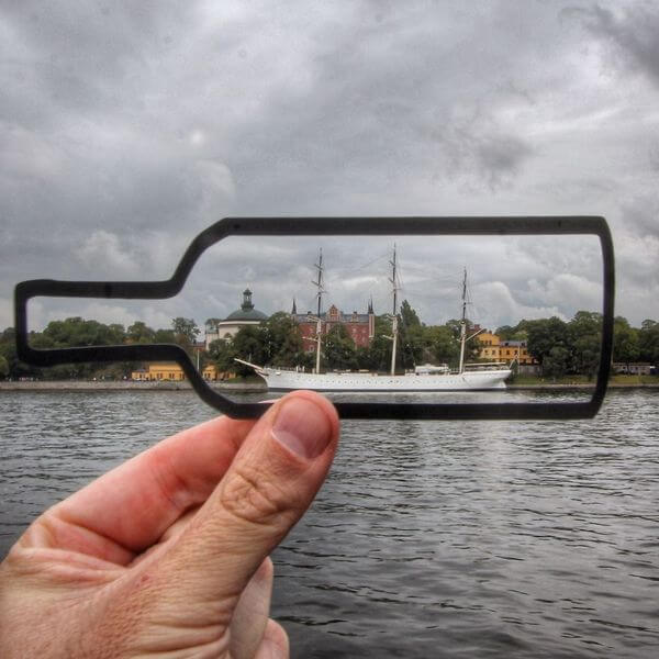 transforms landmarks to paper cuts 4