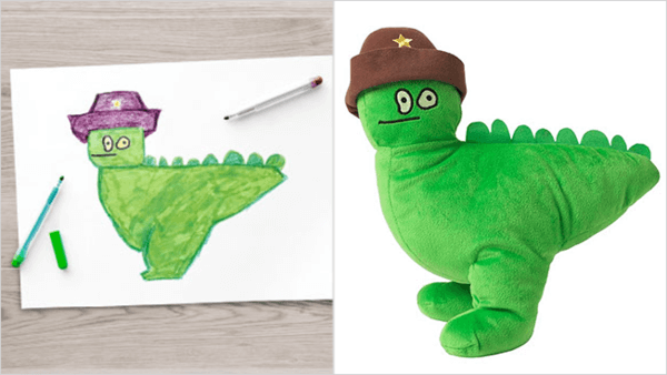 ikea turns drawings to toys 3
