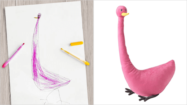 ikea turns drawings to toys 10