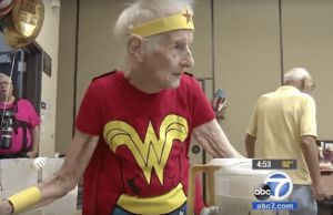 103 old woman dress up like wonder woman 3