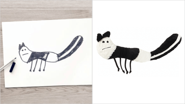 ikea turns drawings to toys 8