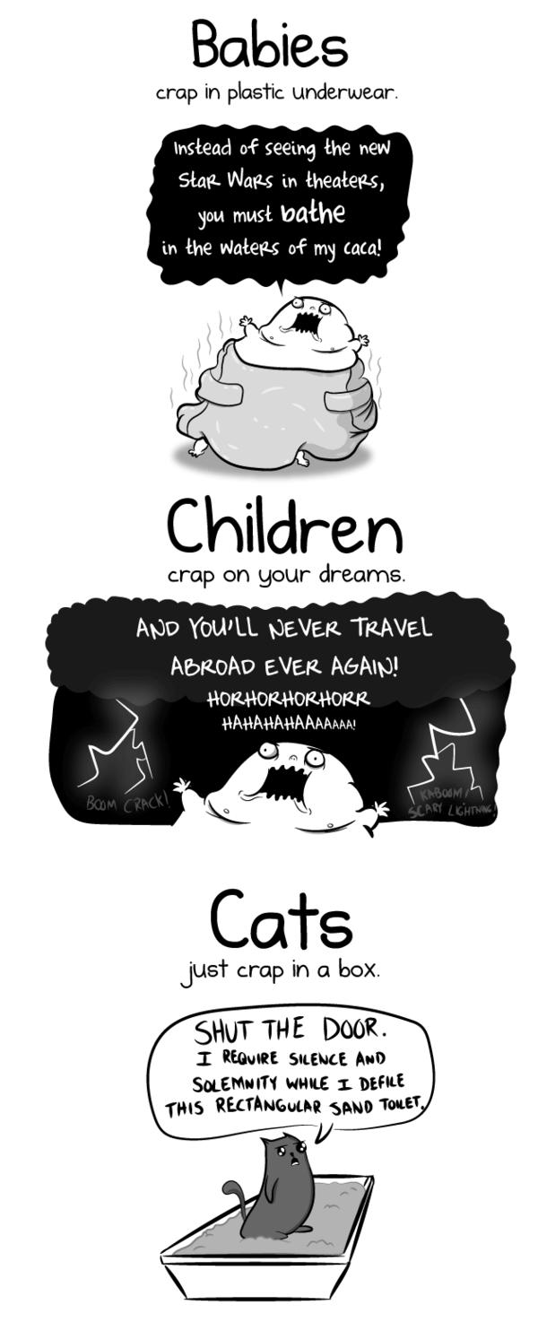 having a baby vs having a cat 4