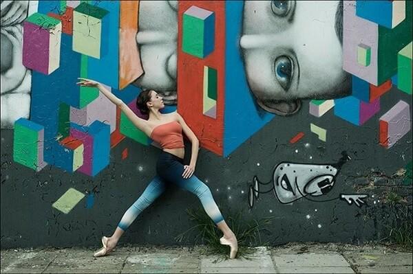 ballerina photos in cities 12