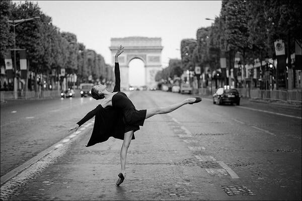 ballerina photos in cities 1