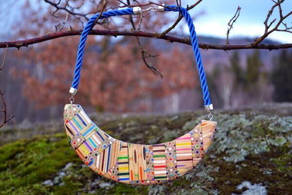 carbickova colored pencil jewelry 2