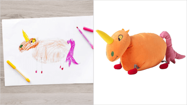 ikea turns drawings to toys 9