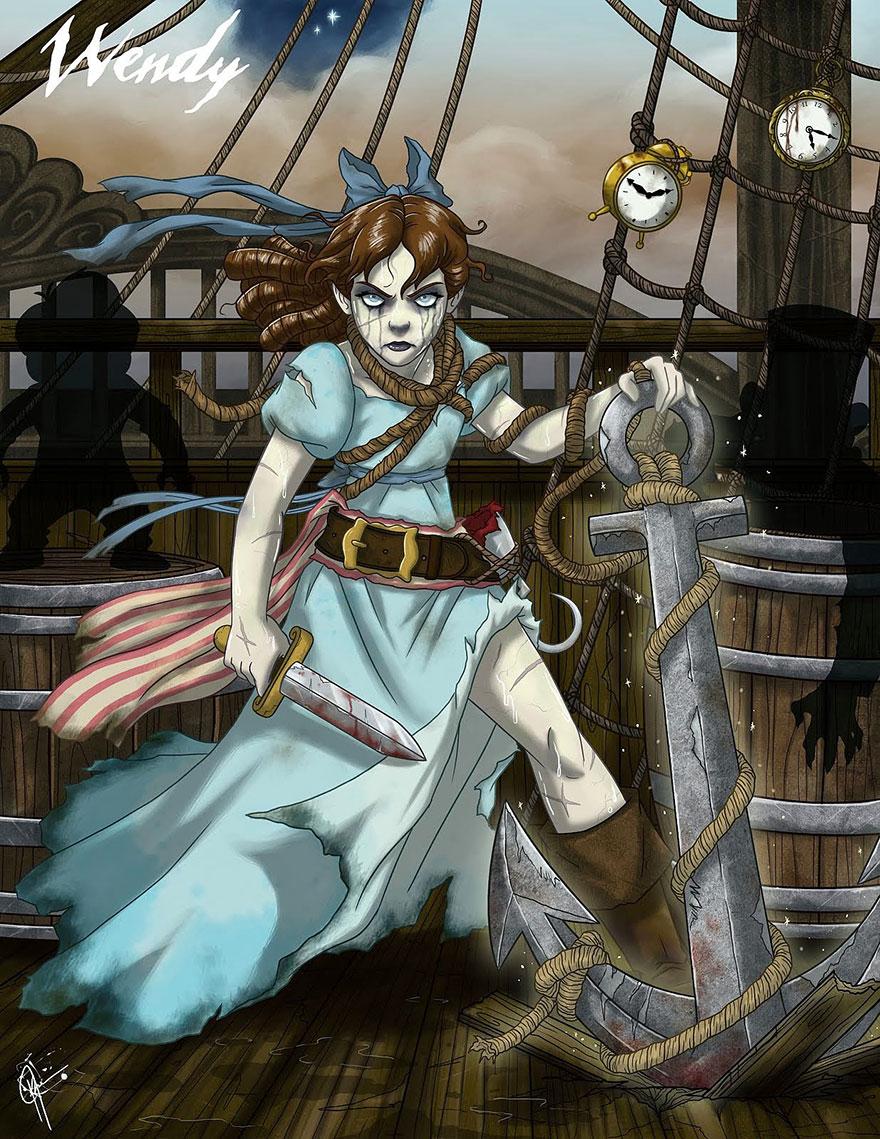 disney princess dark side 1