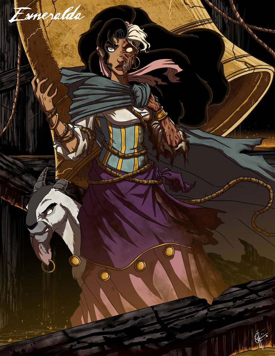 disney princess dark side 9