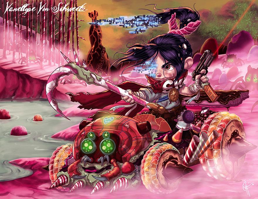 disney princess dark side 13