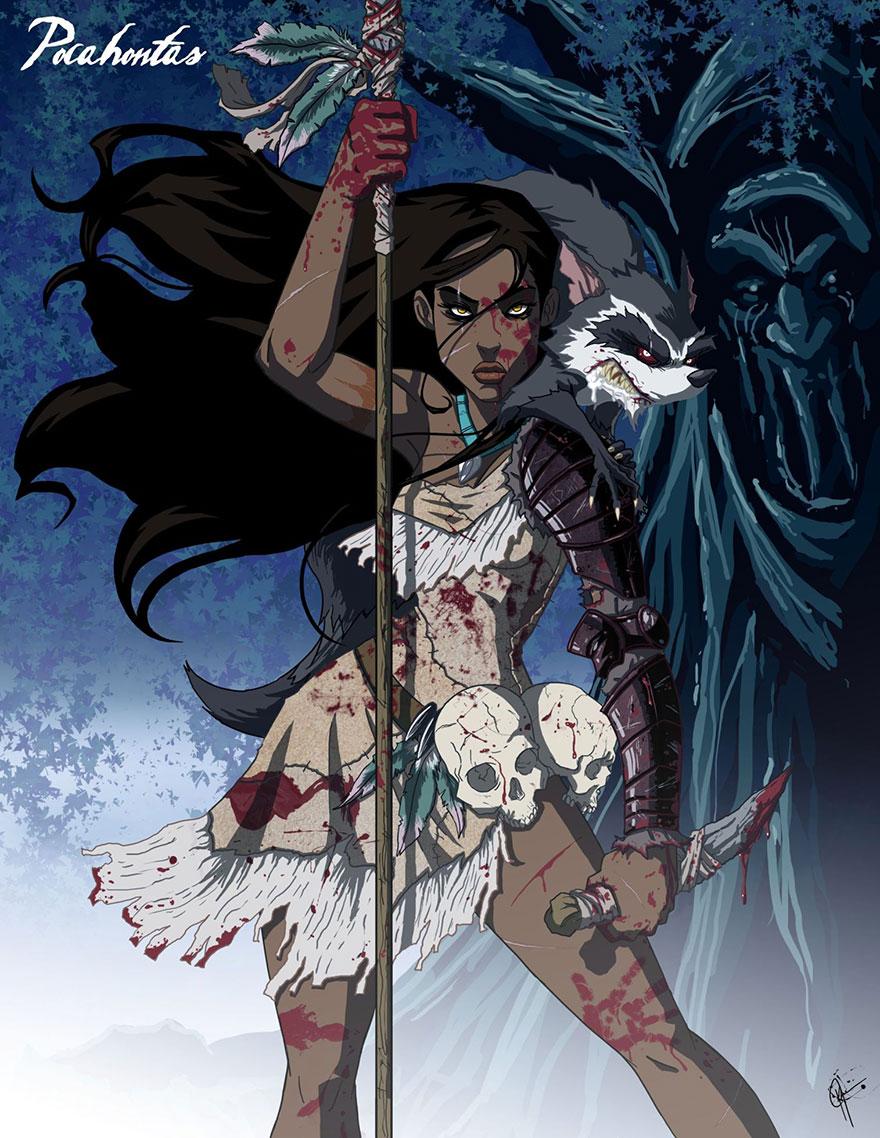 disney princess dark side 15
