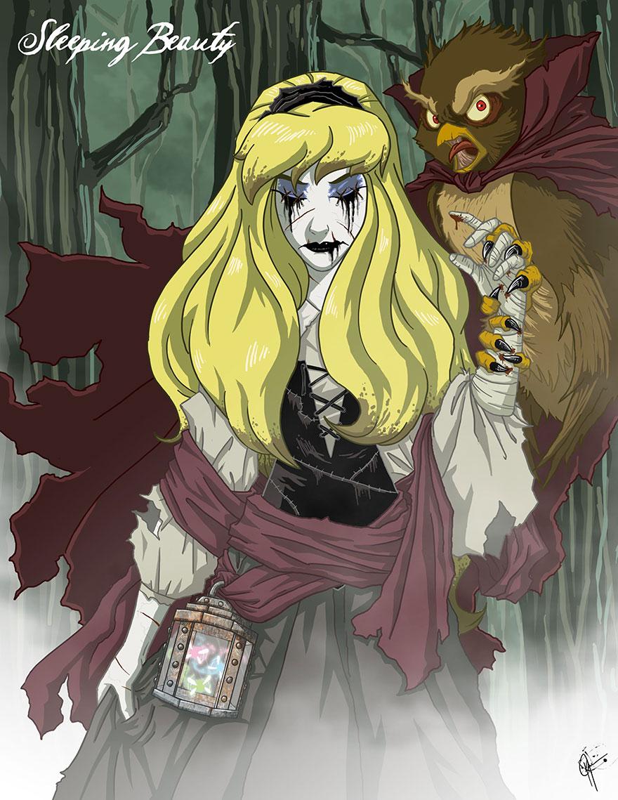 disney princess dark side 17