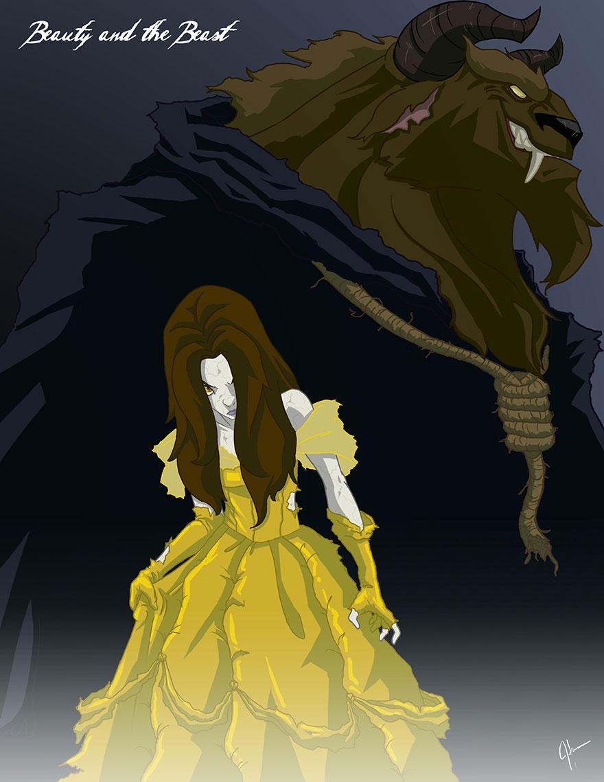disney princess dark side 7