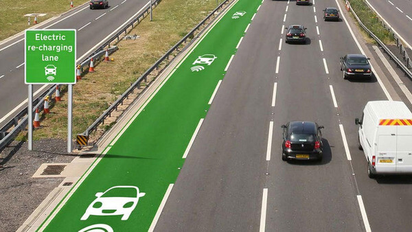 roads that charge electric cars 1