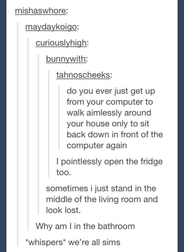sims is hilarious 6