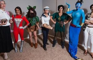 7 girls cosplay 1