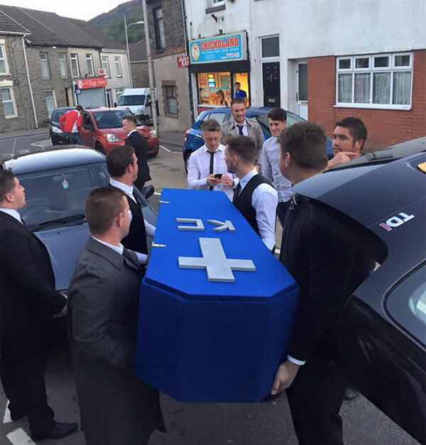 Fake Funeral For Friend 4