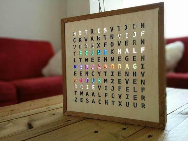 word clock 3