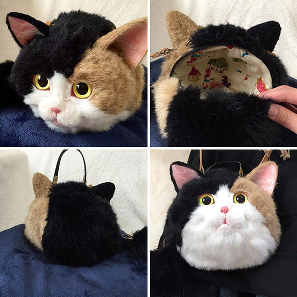 Cat Bags That Look So Real 8