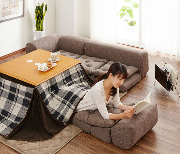japanese heating table bed 4