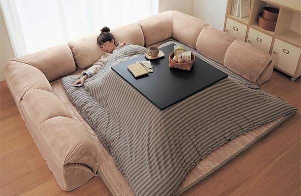 japanese heating table bed 7