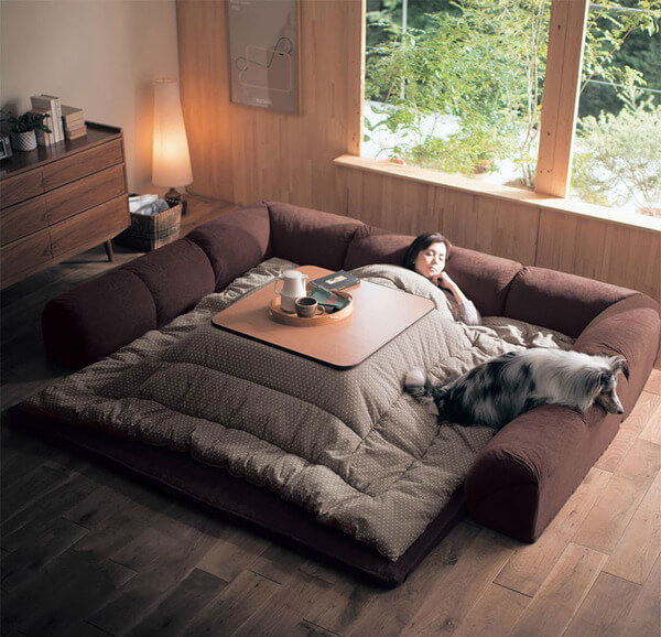 japanese heating table bed 5