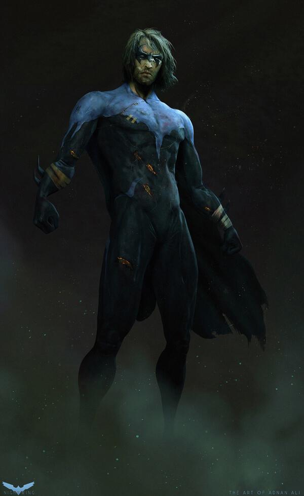 Gritty Superhero Portraits 11