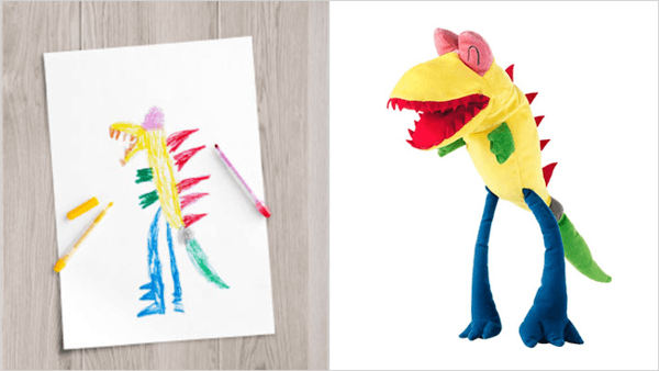ikea turns drawings to toys 4