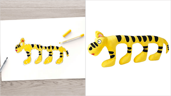 ikea turns drawings to toys 11