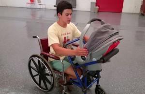 wheelchair stroller 1