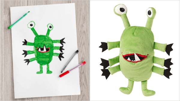 ikea turns drawings to toys 6