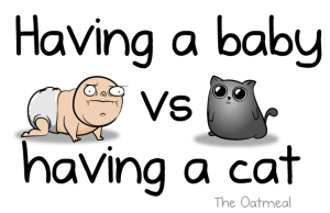 having a baby vs having a cat 2