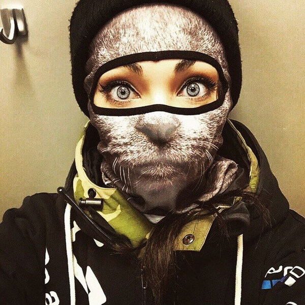 Awesome Animal Ski Masks 1