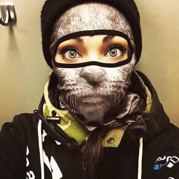 Awesome Animal Ski Masks 1