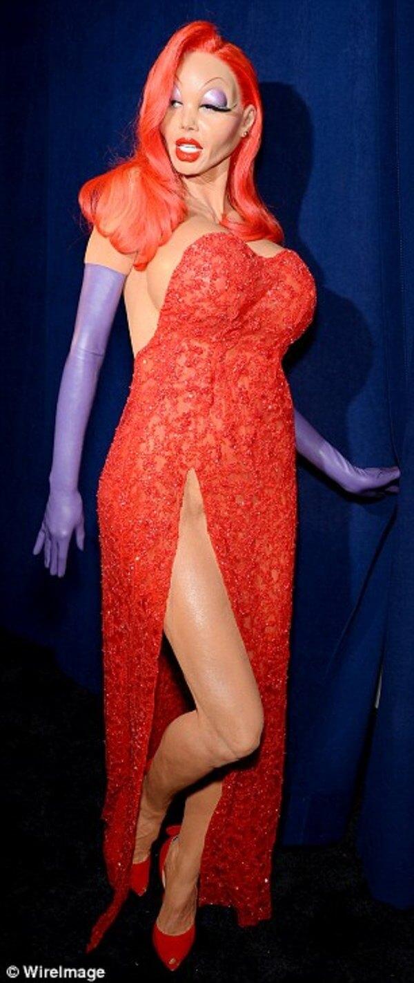 Heidi Klum halloween costume 5