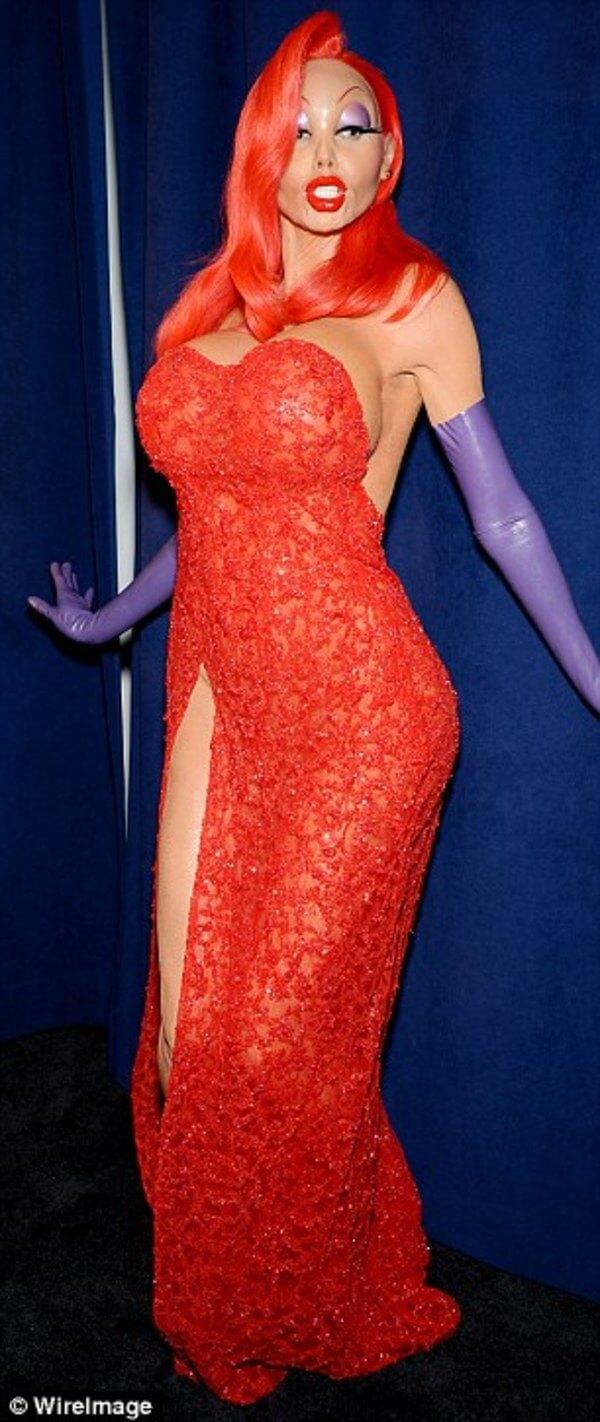 Heidi Klum halloween costume 6
