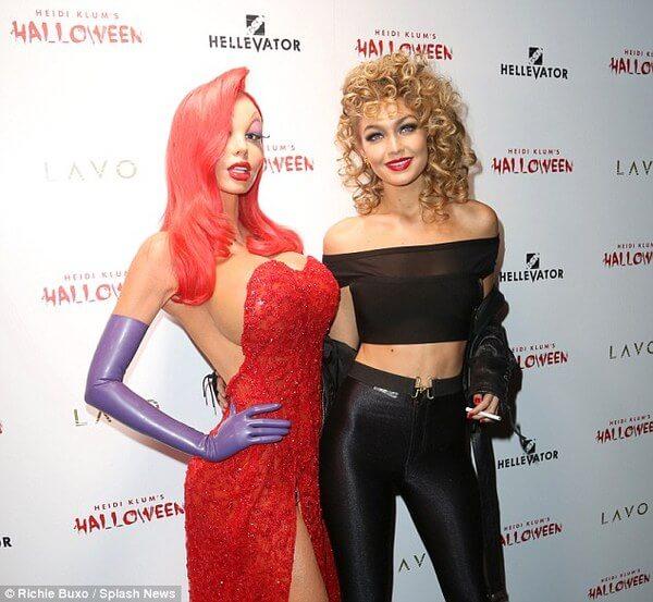 Heidi Klum halloween costume 21
