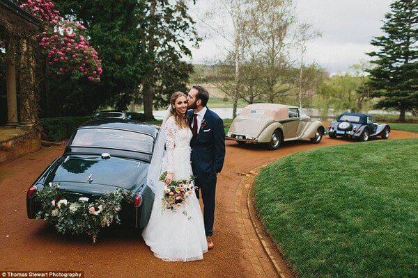 stunning rainy wedding photos 3