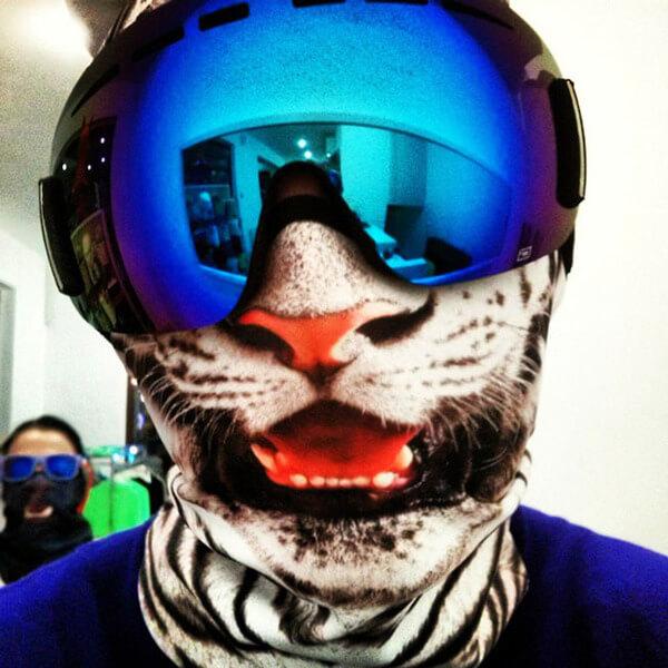 Awesome Animal Ski Masks 8