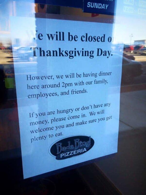 free thanksgiving dinner 1