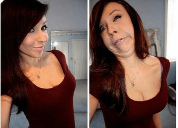 pretty girls making funny faces 11