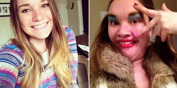 pretty girls making funny faces 26