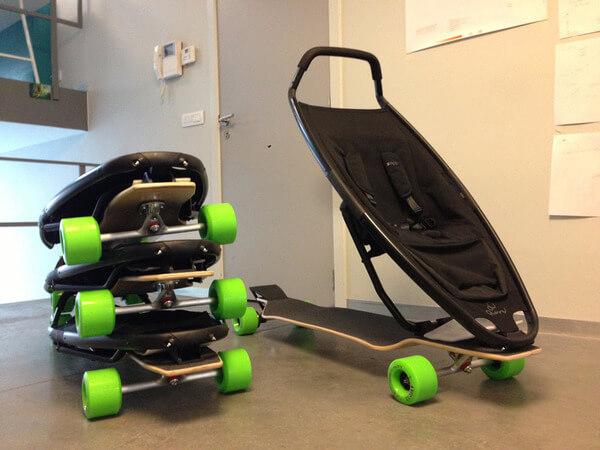 Longboard Stroller 5