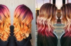 dyeing hair sunset 1