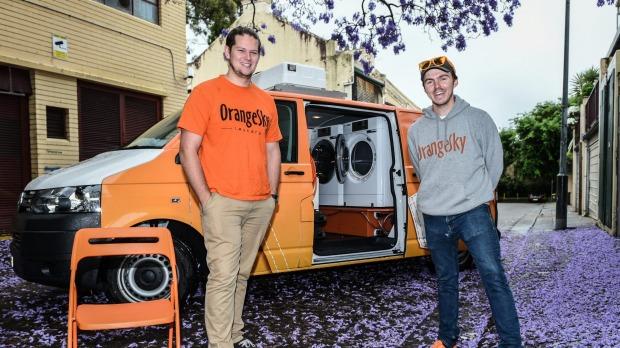 Orange Sky Provides Free Laundry Service 1