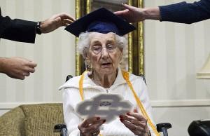 grandma gets diploma 7