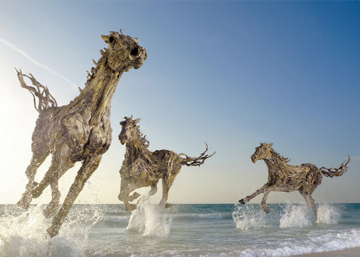 Stunning Sculptures Of Moving Animals 2