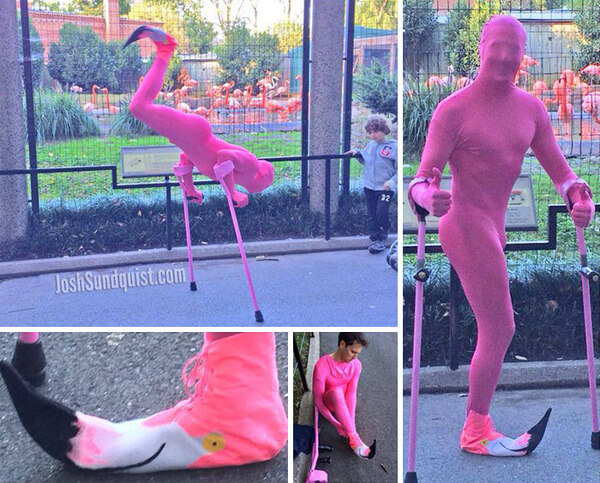 one leg man awesome costume 4
