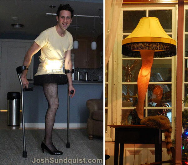 one leg man awesome costume 2