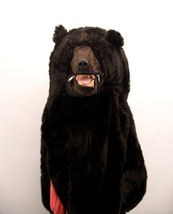 Realistic Bear Sleeping Bag 1