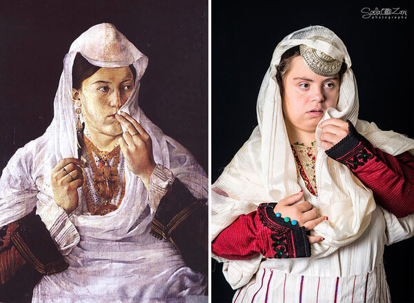 Children With Down Syndrome Recreate Famous Paintings 12
